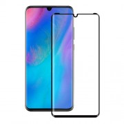 3D Full Size Tempered Glass Screen Protector Anti-explosion for Huawei P30 Pro - Black
