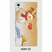 Hard PC Case for Sony Xperia Z3 D6603 D6653 - Crhistmas 3
