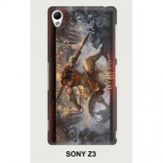 Hard PC Case for Sony Xperia Z3 D6603 D6653 - Diablo