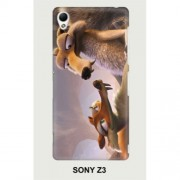 Hard PC Case for Sony Xperia Z3 D6603 D6653 - Ice Age 1
