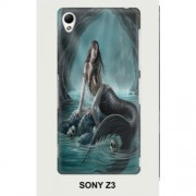 Hard PC Case for Sony Xperia Z3 D6603 D6653 - Mermaid 1