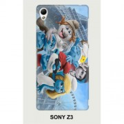 Hard PC Case for Sony Xperia Z3 D6603 D6653 - Smurfs 1