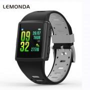 LEMONDA M3 GPS Sports Smart Watch 1.3 inch HD IPS Screen Six Watchfaces Real-time Activity Tracking - Μαύρο / Γκρι