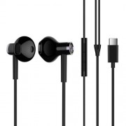 XIAOMI BRE02JY Noise Reduction Type-C Plug In-ear Earphone with Mic for Xiaomi Samsung, etc. - Black