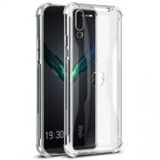 IMAK for Xiaomi Black Shark 2, Smooth Feel Anti-drop TPU Case + Explosion-proof Screen Film - Transparent