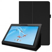 Δερμάτινη Θήκη Βιβλίο με Βάση Στήριξης για Lenovo Tab E10 TB-X104F - Μαύρο