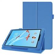 Δερμάτινη Θήκη Βιβλίο με Βάση Στήριξης για Lenovo Tab E8 TB-8304F - Γαλάζιο