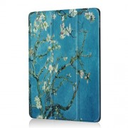 Pattern Printing Tri-fold Stand PU Leather Cover for iPad Air 10.5 (2019) / Pro 10.5-inch (2017) - Wintersweet