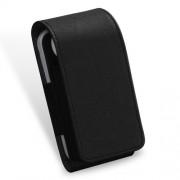 DUX DUCIS Δερμάτινη Θήκη με Όψη Υφάσματος για iQOS Electronic Cigarette - Μαύρο