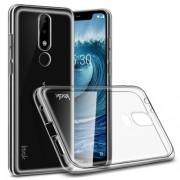 IMAK Stealth Θήκη Σιλικόνης TPU για Nokia 5.1 Plus / X5 - Διάφανο