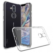 IMAK UX-5 Series Soft TPU Mobile Phone Case for Nokia  8.1 / X7