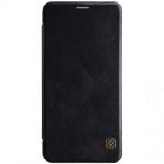 NILLKIN Qin Series Leather Card Holder Case for Samsung Galaxy A7 (2018) - Black