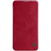 NILLKIN Qin Series Leather Protective Case for Samsung Galaxy S10e - Red