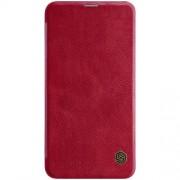 NILLKIN Qin Series Δερμάτινη Θήκη Πορτοφόλι για Samsung Galaxy S10e / S10 Lite - Κόκκινο