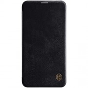 NILLKIN Qin Series Leather Phone Cover for Samsung Galaxy S10e - Black