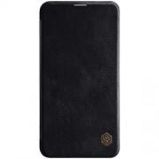 NILLKIN Qin Series Δερμάτινη Θήκη Πορτοφόλι για Samsung Galaxy S10e / S10 Lite - Μαύρο