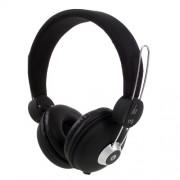 JKR 110 3.5mm HiFi Μεγάλα Στερεοφωνικά Ακουστικά με Μικρόφωνο - Μαύρο