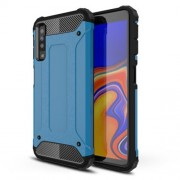 Armor Guard Plastic + TPU Combo Protection Cover for Samsung Galaxy A7 (2018) - Baby Blue