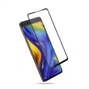 MOCOLO Silk Print Arc Edge Full Coverage Tempered Glass Screen Protector for Xiaomi Mi Mix 3 - Black