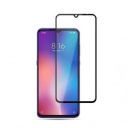 MOCOLO for Xiaomi Mi 9 Anti-explosion Ultra Clear Full Covering Silk Print Tempered Glass Screen Protector Guard