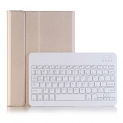 Gold - Slim Leather Stand Case with Detachable Bluetooth Keyboard for Huawei MediaPad M5 10/M5 10 (Pro)