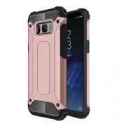 Armor Guard Plastic + TPU Combo Case for Samsung Galaxy S8 - Rose Gold