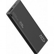 Power Bank ACC+ THIN 6000 mAh Fast Charge - Black