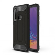 Armor Guard Plastic + TPU Hybrid Case for Samsung Galaxy A9 (2018) / A9 Star Pro / A9s - Black
