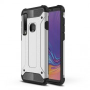 Armor Guard Plastic + TPU Hybrid Cover for Samsung Galaxy A9 (2018) / A9 Star Pro / A9s - Silver
