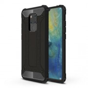 Armor Guard Plastic + TPU Hybrid Case for Huawei Mate 20 X - Black