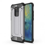 Armor Guard Plastic + TPU Hybrid Protection Case for Huawei Mate 20 X - Grey