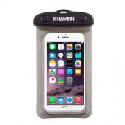 HAWEEL HWL-7002 Universal Waterproof Bag Pouch Case for iPhone X/8 Plus, Size: 21 x 11.5 x 1.2cm - Grey