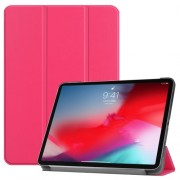 PU Leather Tri-fold Stand Smart Tablet Cover for iPad Pro 11-inch (2018) - Rose