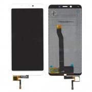 LCD Screen and Digitizer Assembly for Xiaomi Redmi 6A - White