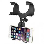 Βάση Στήριξης Αυτοκινήτου (Καθρέφτη) για Smartphones, GPS - Μαύρο