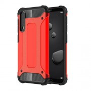 Armor Guard Plastic + TPU Hybrid Mobile Phone Shell for Huawei P20 Pro - Red