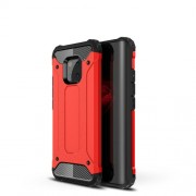 Armor Guard Plastic + TPU Hybrid Mobile Casing for Huawei Mate 20 Pro - Red