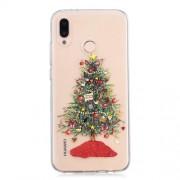 Pattern Printing Christmas Series TPU Mobile Phone Case for Huawei P20 Lite / Nova 3e (China) - Christmas Tree