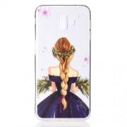 Θήκη Σιλικόνης TPU για Samsung Galaxy J6 Plus / J6 Prime - Χαριτωμένος Κορίτσι