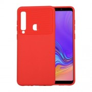 Soft TPU Back Case for Samsung Galaxy A9 (2018) / A9 Star Pro / A9s - Red
