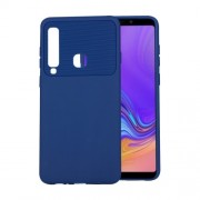 Soft TPU Cell Phone Case for Samsung Galaxy A9 (2018) / A9 Star Pro / A9s - Blue