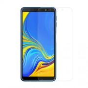 0.3mm Tempered Glass Screen Protector Film for Samsung Galaxy A7 (2018) Arc Edge