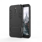 Cool Guard Kickstand PC TPU Hybrid Case for Meizu M6T - Black
