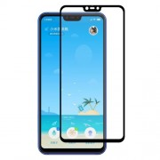 HAT PRINCE Full Glue 0.26mm 9H 2.5D Full Screen Tempered Glass Protector for Xiaomi Mi 8 Lite / Mi 8 Youth (Mi 8X)