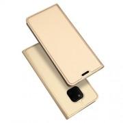 DUX DUCIS Skin Pro Series Θήκη Πορτοφόλι με Βάση Στήριξης για Huawei Mate 20 Pro - Χρυσαφί