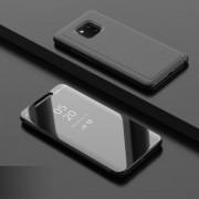 Θήκη Βιβλίο View Window (Όψη Καθρέφτη) με Βάση Στήριξης για Huawei Mate 20 Pro - Μαύρο