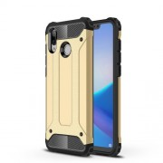 Armor Guard Plastic + TPU Combo Protective Shell Case for Huawei Honor Play - Gold
