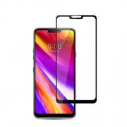 MOCOLO Silk Print Arc Edge Full Size Tempered Glass Screen Protector for LG G7 ThinQ
