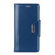 Δερμάτινη Θήκη Πορτοφόλι με Βάση Στήριξης για Xiaomi Mi 8 Lite / Mi 8 Youth (Mi 8X) - Μπλε