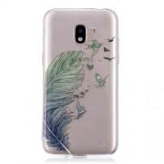 Θήκη Σιλικόνης TPU για Samsung Galaxy J2 Pro 2018 - Φτερό και Πουλάκια